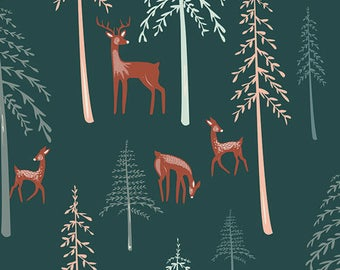 Among the Pines - Campsite - Capsules by AGF Studio - Art Gallery Fabrics - Fabric By the Half Yard