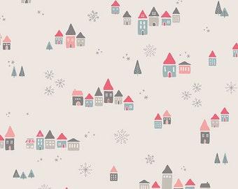 "LAST 21"" - Snowdrift Joy - Little Town Fabric Collection - Amy Sinibaldi - Art Gallery Fabrics - Fabric by the Half Yard"