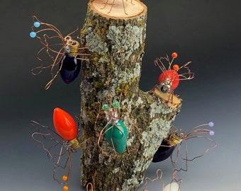 Flutterbys - Butterfly - Handmade - Garden Decor - Moth - Monarch - Butterflies - Metamorphosis - Swallowtail - Bugs