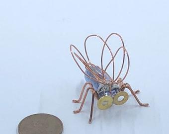 Magnet - Flash Cube Bug Magnet - magnets - camera - lightbulb - bugs - gift - handmade - flashbulb - office supplies - fridge magnet