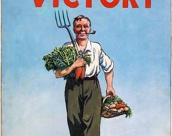 3W3 Vintage WWII British Industry Repair Work War Effort Poster WW2 A2//A3//A4