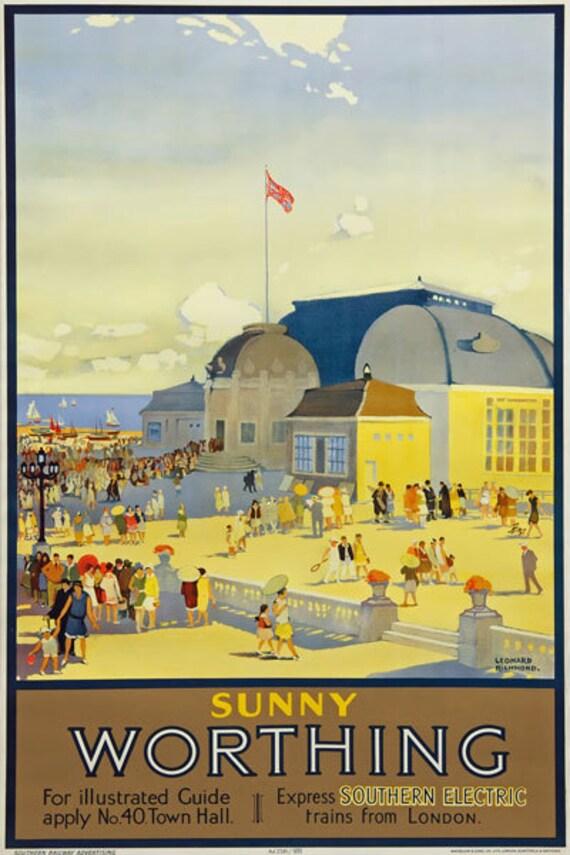 Vintage Rail advertising travel railway poster  A4 RE PRINTSouth Wales