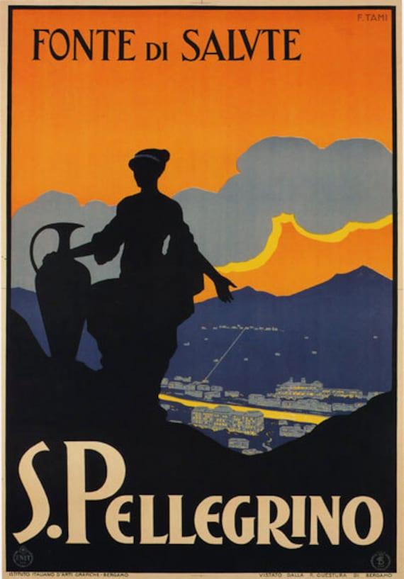 Tv76 Vintage 1930 Abruzzo Italiano Italia viajar cartel turístico A2//a3 Reimpresión