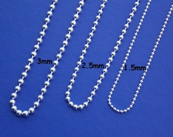 ball necklace tiny bead necklace pease beaded necklace one ball drop necklace One bead necklace drop bead necklace tiny ball necklace