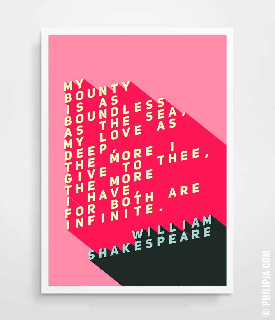 ROMEO and JULIET Quote Romeo and Juliet Print Romeo and