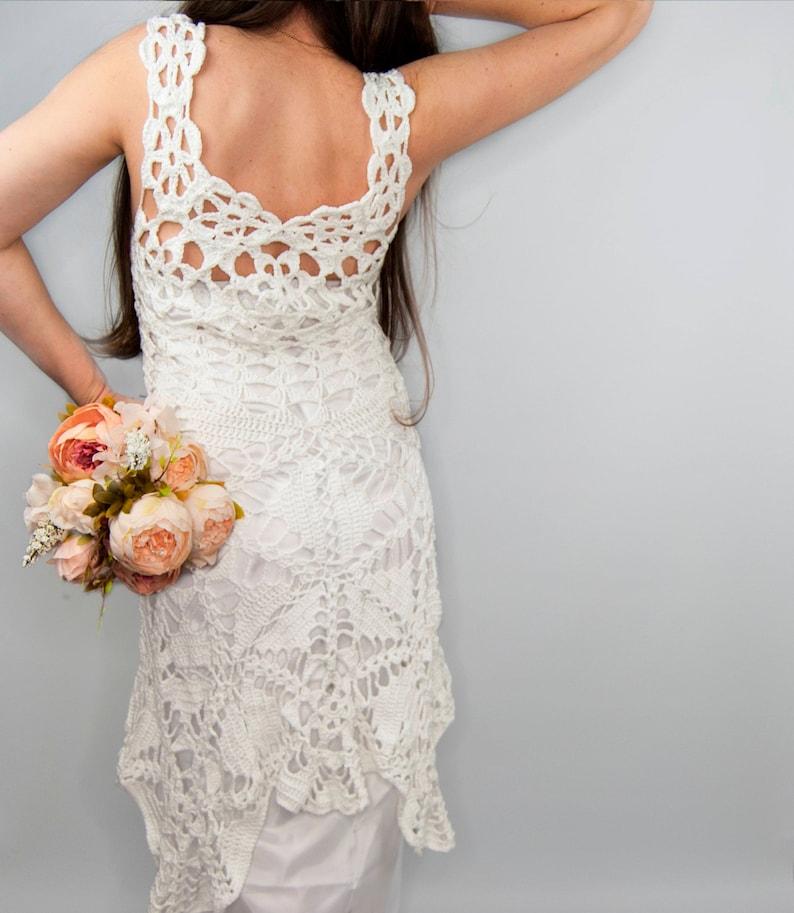 Copricostume Alluncinetto Crochet Maxi Dress Abito Etsy