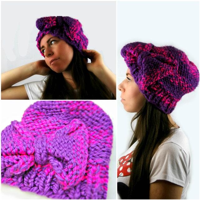 Knit Hat Pattern Chunky Knit Pattern Patterns Knitting Knit Etsy
