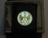 Money clip - Gorgeous 2-Toned Gold on Silver German 5 mark Eagle, Coin - (Folding) Money clips