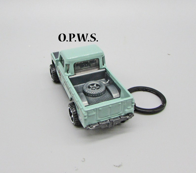 Land Rover Series 3 Pickup Land Rover Keychain Pickup Keychain, Land Rover Pickup Keychain