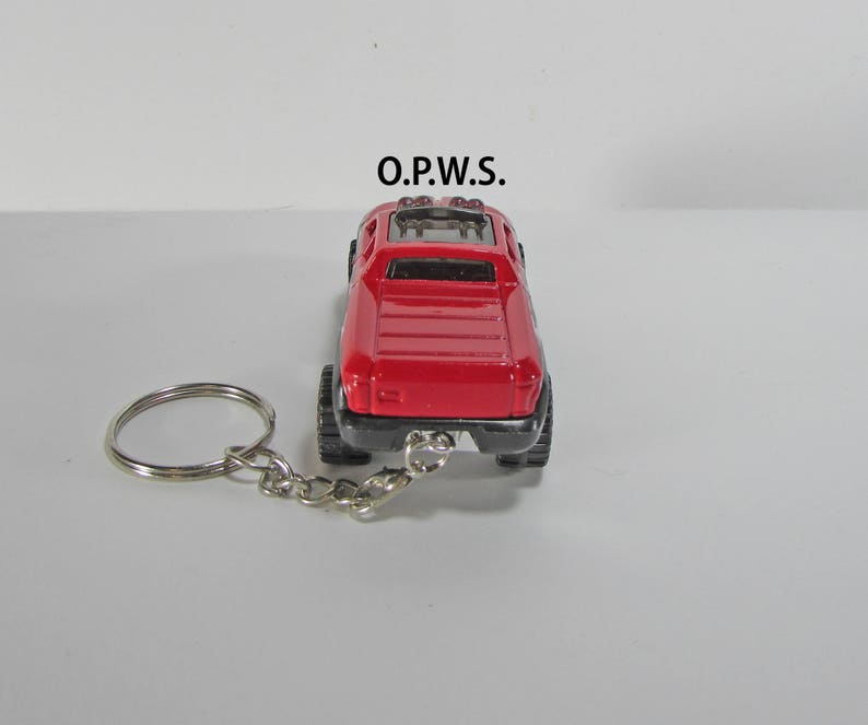 Off Duty Pickup Keychain 4x4 Pickup Keychain Pickup Keychain Hot Wheels Keychain.