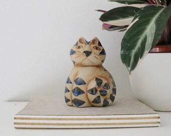 ceramic handmade cat
