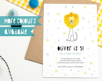 personalised childrens party invitations girls party etsy