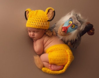 Simba The Lion King Baby Diaper Set