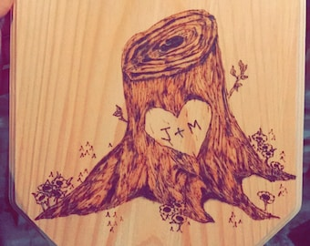 Lovers Tree Stump