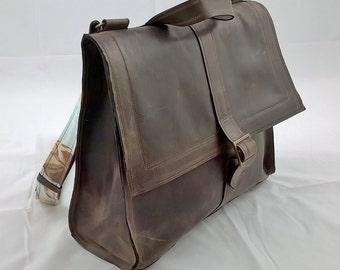 Leather Satchel. Leather Messenger, Leather Rucksack, Leather Backpack, Cross body Bag, Messenger Backpack, Shoulder Bag, The Josephine.