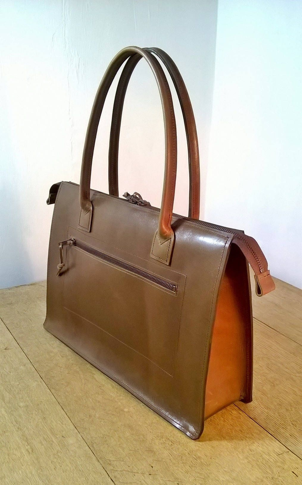 365364c0a3ea Ladies Laptop Handbag/briefcase. Leather Messenger, Leather Laptop Bag,  Leather Briefcase, Leather Day Bag, Leather exterior and lining.