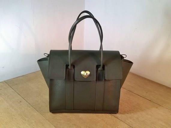 Ladies Leather Tote Handbag. The Ossiansleather Bayswater  3bda070c2e3d4