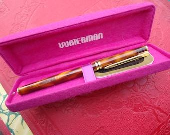 Pair of Ballpoint Pens Original French Vintage PIERRE CARDIN Pens in its Original Box MICHELIN Advertising Pens from Paris Designer France