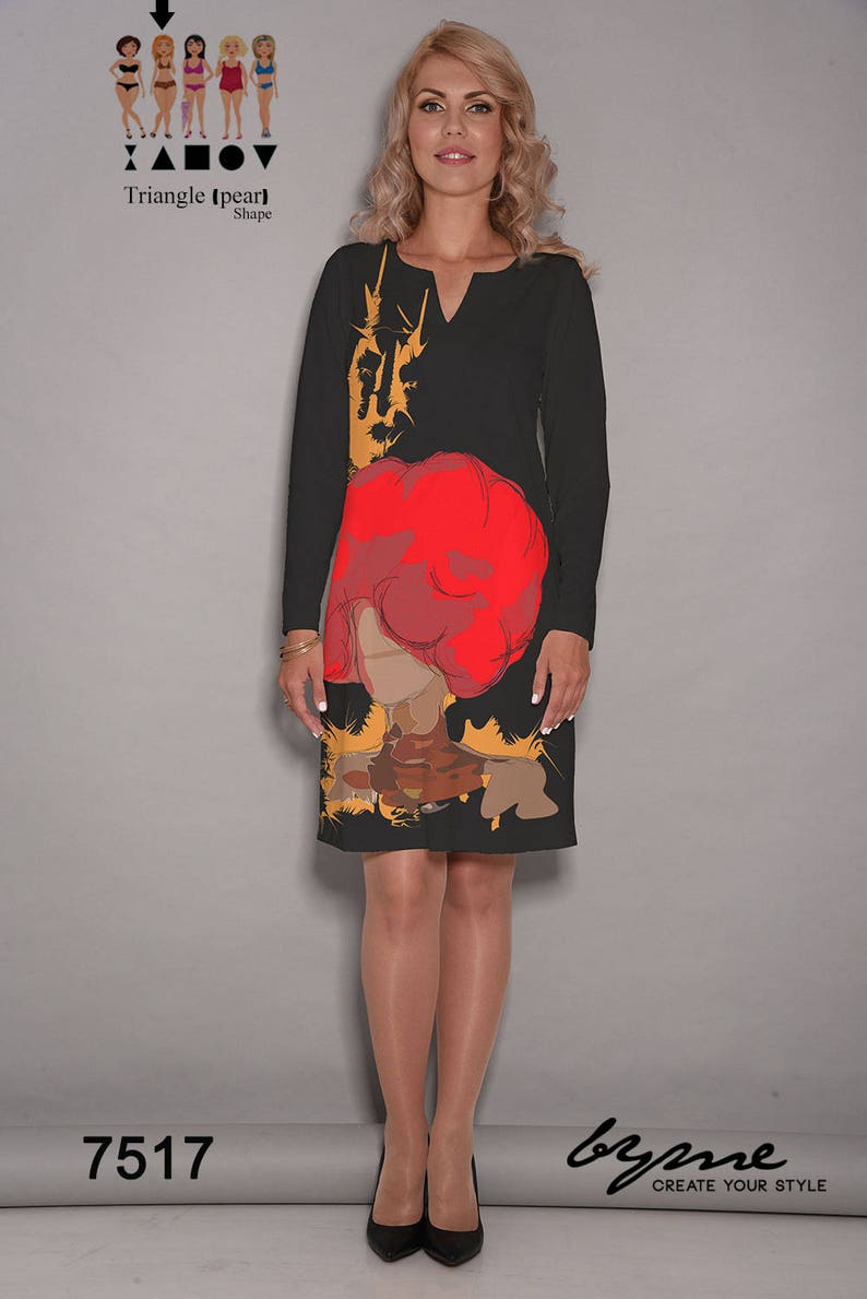 8452a41fdbc9 Black dress Red dress loose dresses artist dress party