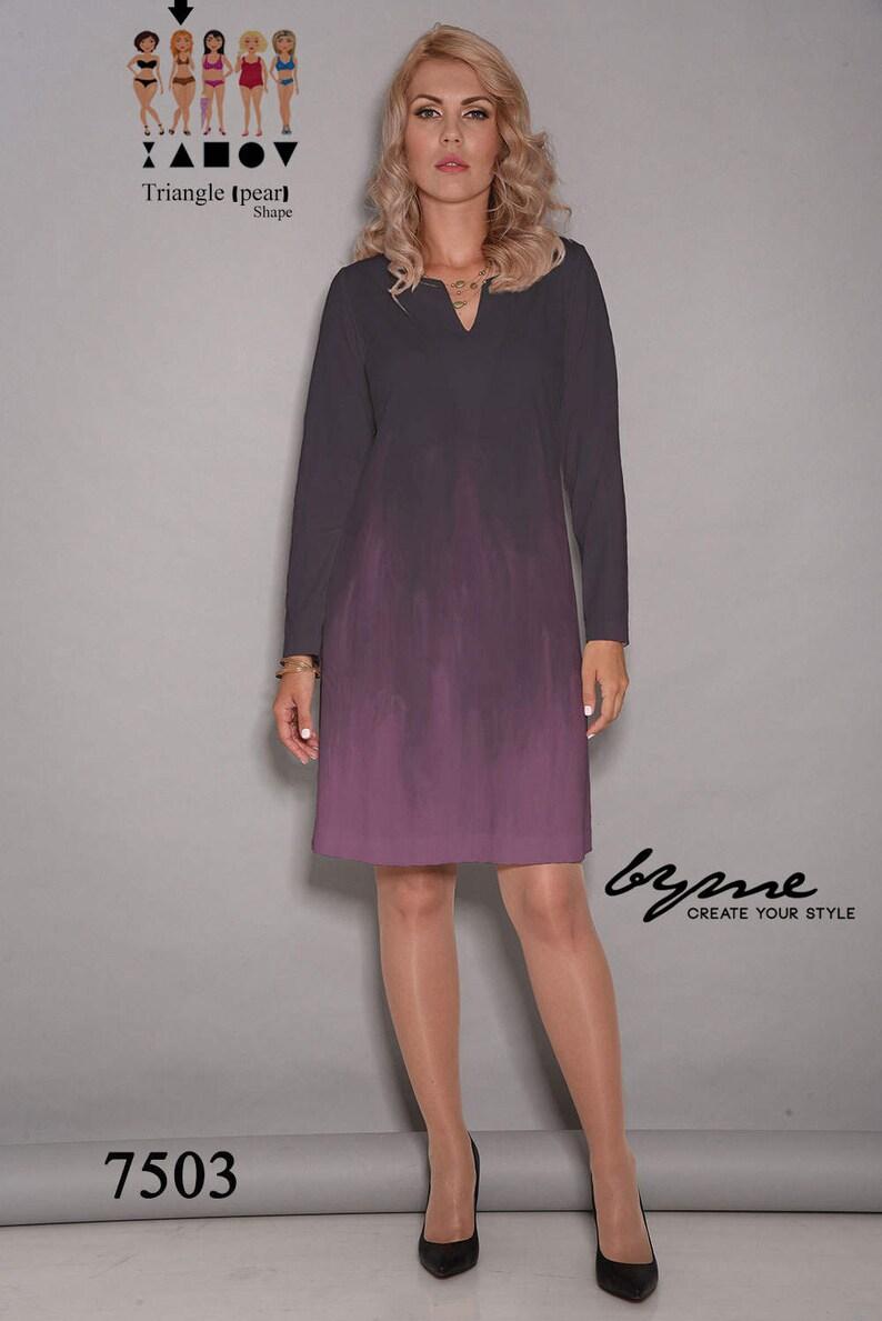 89bca47ea52f Purple dress black dress short dress loose dresses party