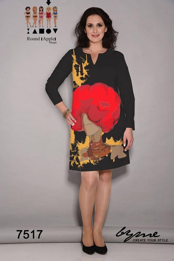 Longue Lâches De Longues Élégante Rouge Artiste Mi Femmes Manches Noire Robe Soirée Robes À Robe YwC6q6