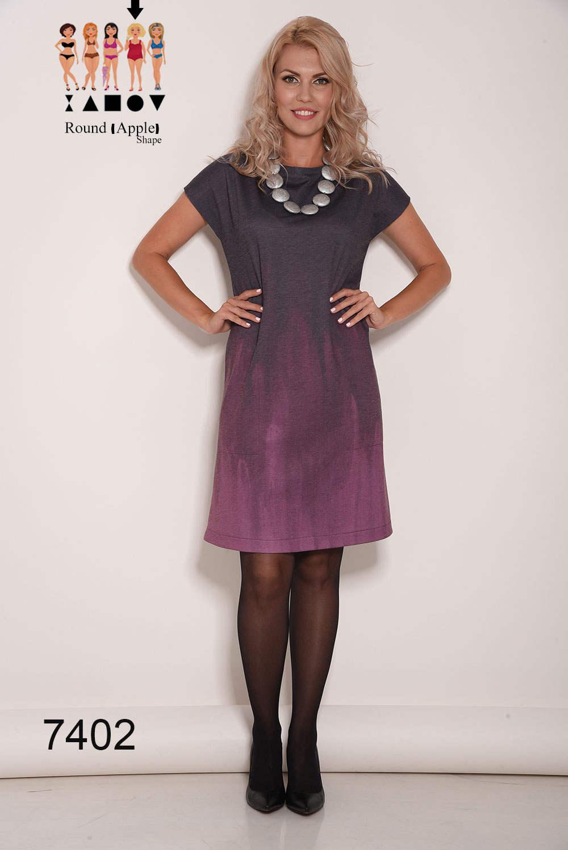 Lila Kleid schwarzes Kleid kurzes Kleid lose Kleider