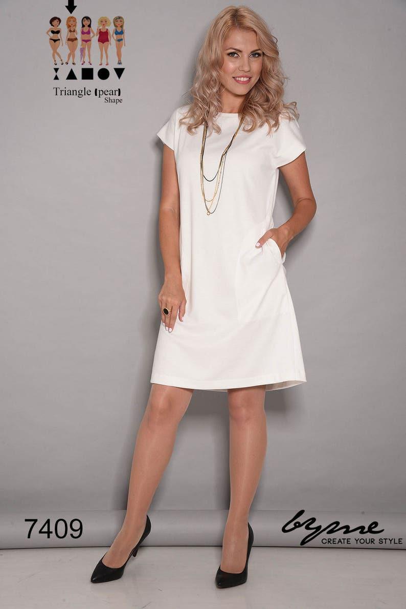 b98ace129ab1 White dress short dress loose dresses party dresses for