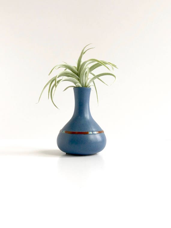 Vintage Dansk Mesa Sky Blue Bud Vase Made In Portugal Vintage Etsy