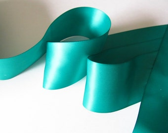"Price for each 3 continuous yd Ribbon double sided satin 1.5/"" Mint Green"