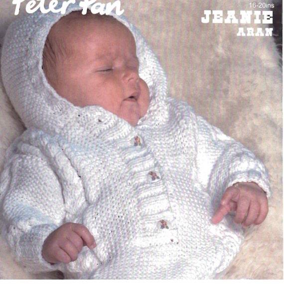 Stricken Baby Schlafsack Mit Kapuze Ohhhbabybaby Knöpfen Etsy