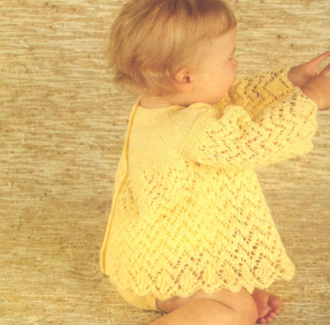 Baby Knit Angel Top and knickers /OhhhBabyBaby/ round neck | Etsy