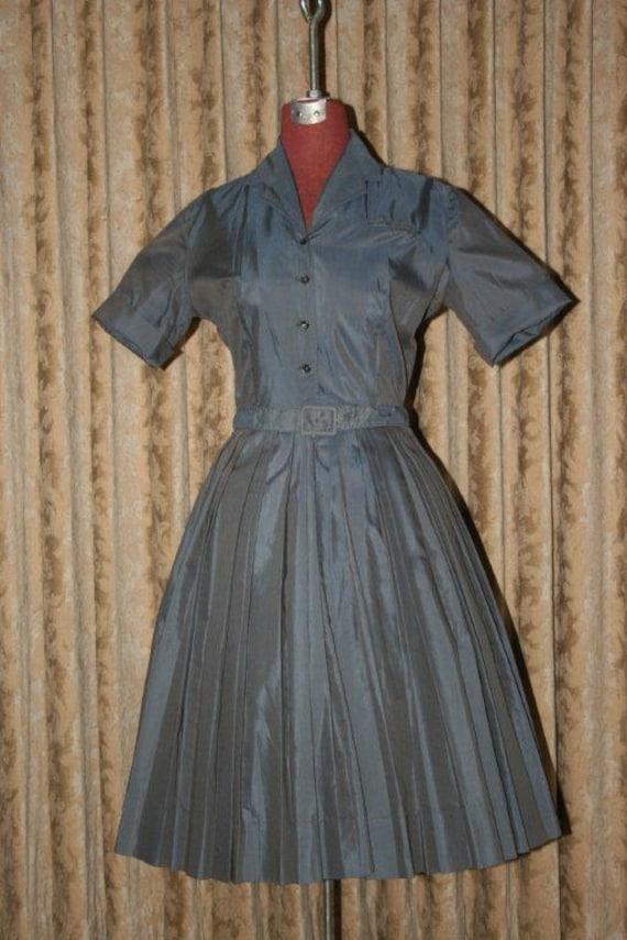 "Vintage 1950's ""Texas Shirtwaist"" Dress"