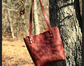The HERA Leather Tote Bag