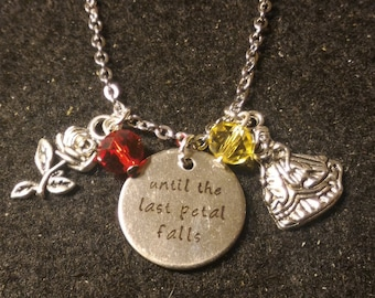 Beauty and the Beast Necklace;