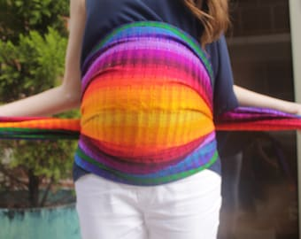 8d6865ad324 Hypnobirthing Rebozo Long Scarf 9 feet Doula Midwife Baby Sling Maternity  Back Support Baby Wrap Midwifery Rebozo Wrap