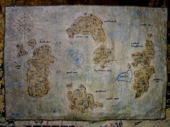 MTO Big Azeroth map. Legion. World of Warcraft map. Choose | Etsy