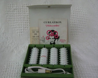 Curlatron Electric Rollers Travel Pak  No Clips