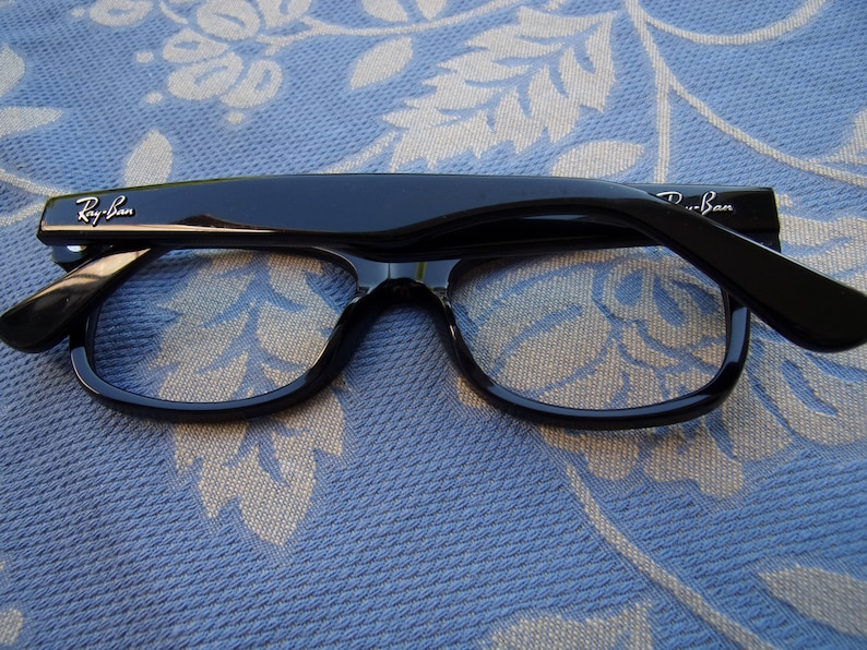 3850fa1988 RAY BAN S frame eyeglasses Rb 1528 3542 black 48 MM Ray Ban