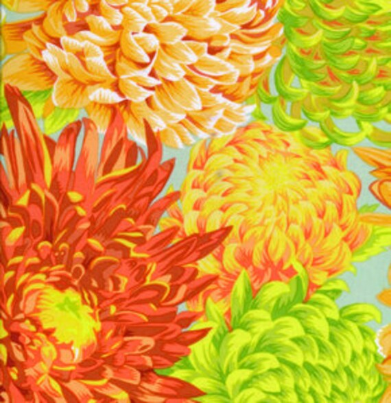 Cactus Flower Yellow Philip Jacobs Kaffe Fassett Collective PWPJ096 Cotton Fabric ~ Choose your Cut