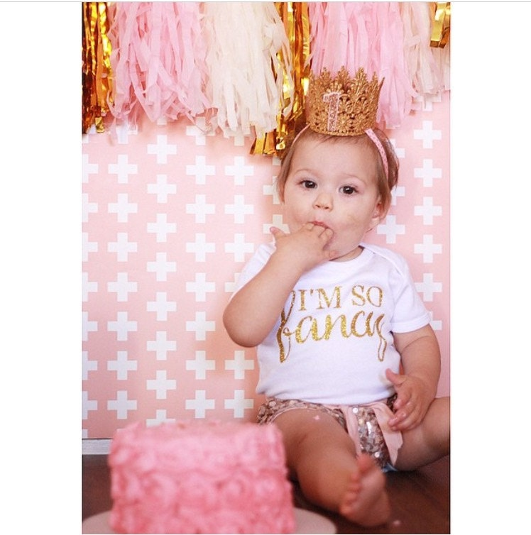 The Golden Princess First Birthday Crown Baby Crown First  c4cf45d1fad