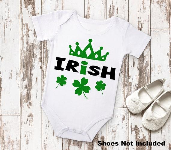 Irish Princess St Patricks Day Baby Shower Birthday Gift Idea Etsy