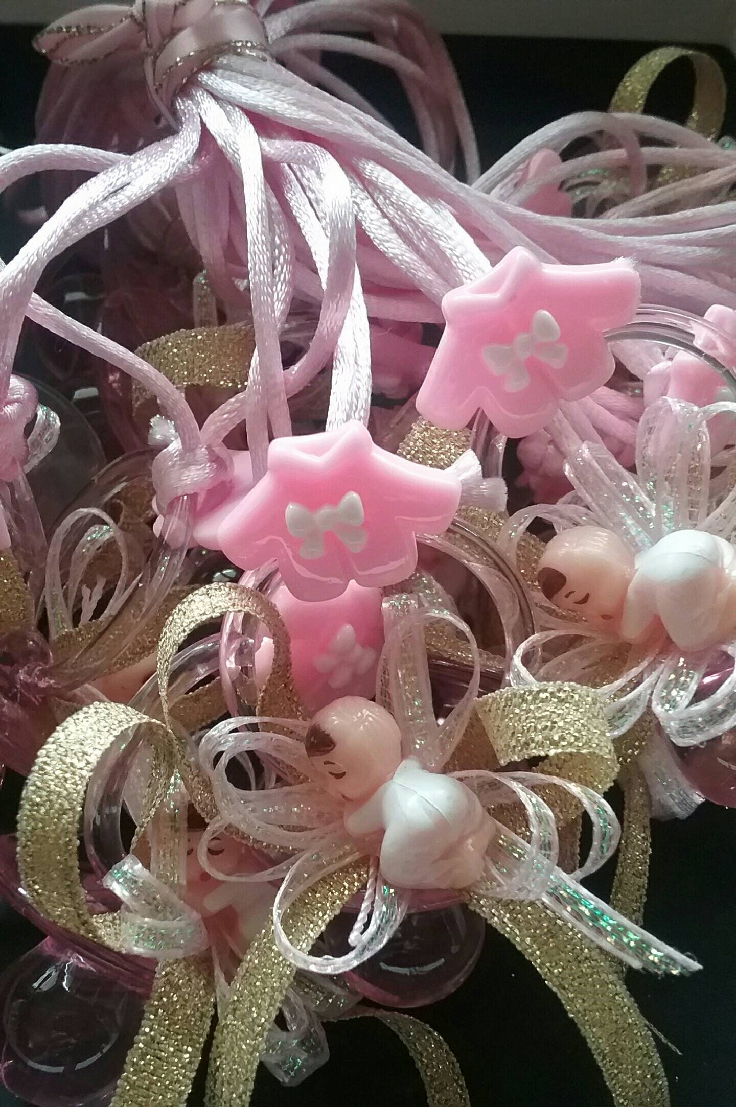 1 dozen pacifier necklace baby shower party favor game etsy zoom izmirmasajfo