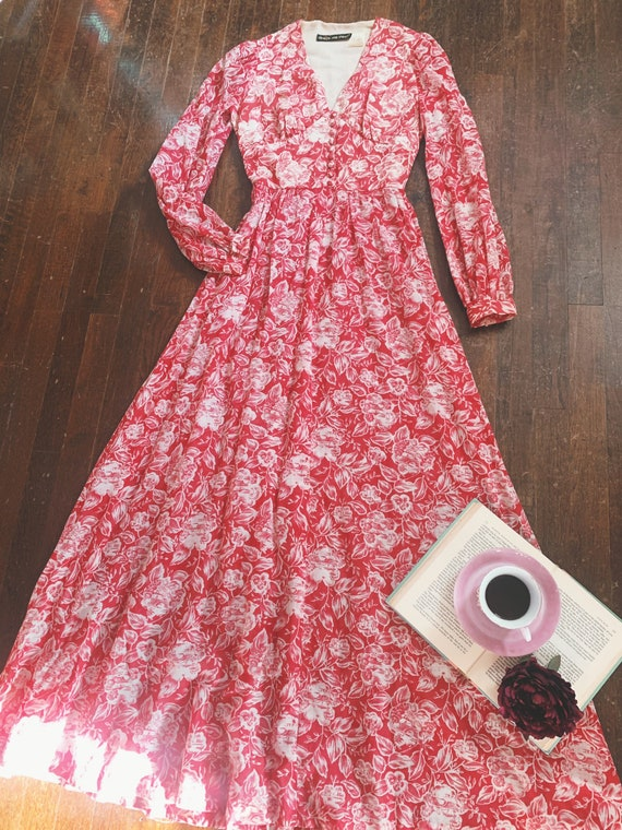 Vintage 1970s Raspberry Pink Denise Are There ! Co