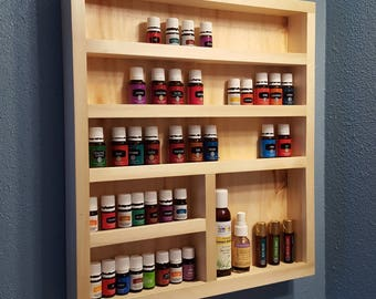 Handmade Essential Oil Cabinet, Salvaged Colorado Aspen, Tincture Storage,  Shelf, Bathroom, Bedroom, Home Decor, Organization MADE TO ORDER