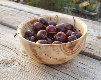 Handmade Wooden bowl, Rustic Personalized bowl, Personalized Wedding Gift, Anniversary gift, Small fruit bowl, Candy bowl, wooden salad bowl