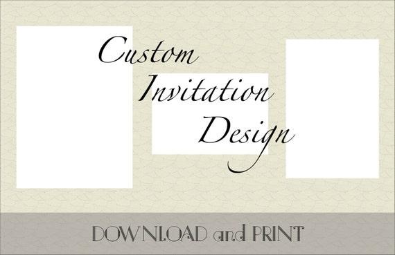 Invitación De Boda Personalizados Para Imprimir Tarjeta De Respuesta Y Recepción Información De La Tarjeta