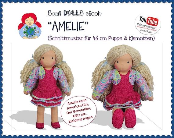 eBook Puppe AMELIE 46 cm Anleitung & Schnitt Sami Dolls