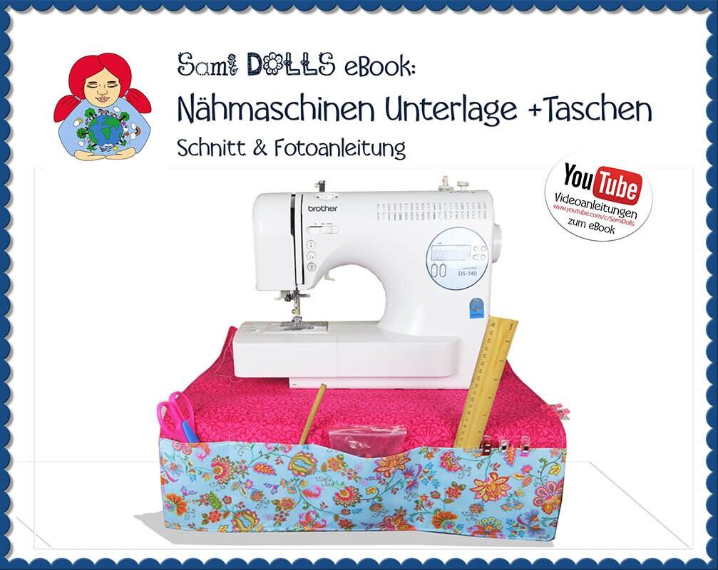 Nähmaschinen Unterlage Schnitt & Anleitung PDF Sami Dolls