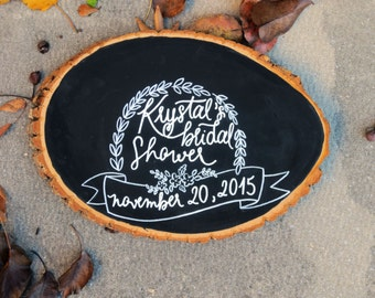 Bridal Shower Guestbook   Rustic Bridal Shower Guestbook   Unique Bridal Guestbook   Personalized Bridal Guestbook