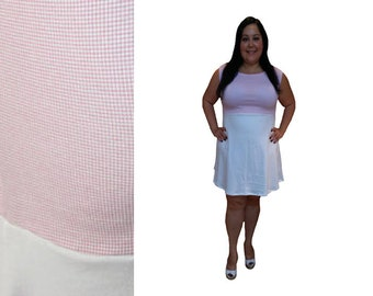 Black and White Stripe Colorblock Dress // Color Block Long | Etsy